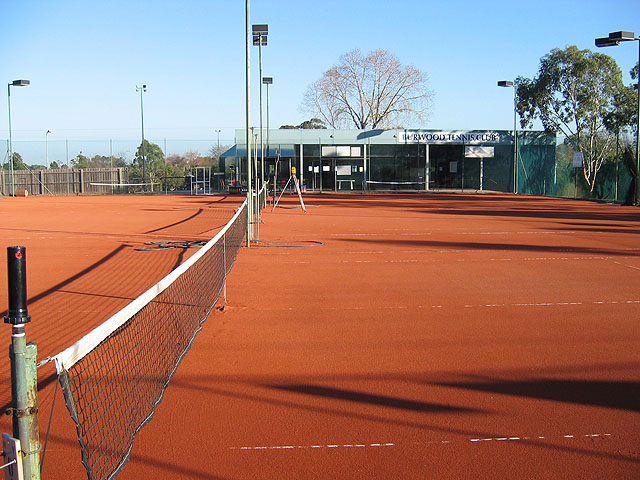 After En Tout Cas Tennis Court Conversion