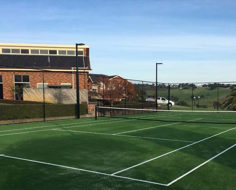 Tennis Court Fencing & Lighting in Melbourne