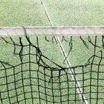 Damaged Tennis Court Net in Melbourne
