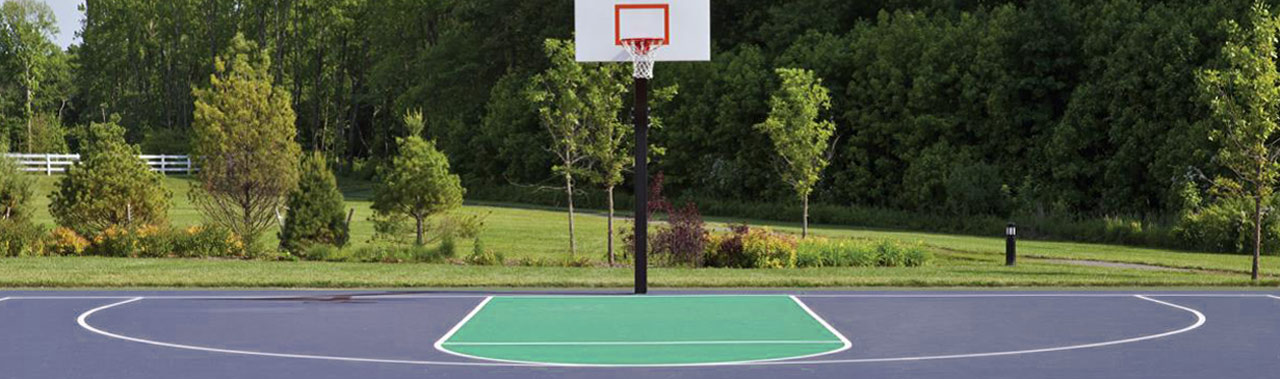 Outdoor Basketball Court in Melbourne