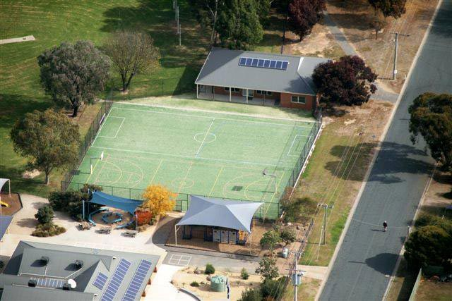 Basketball Court & Mini Soccer Pitch