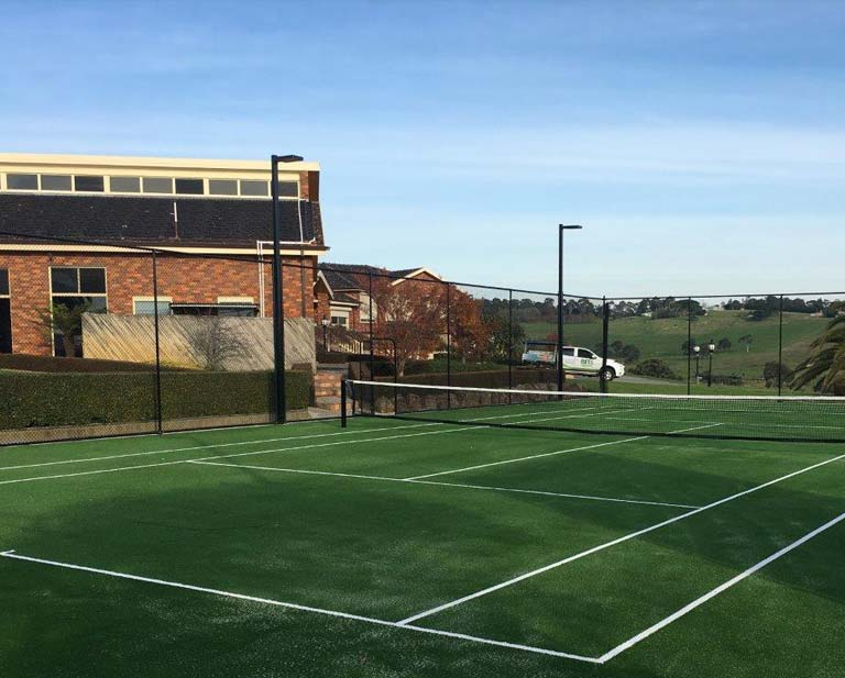 Tennis Court Fencing & Lighting in Melbourne
