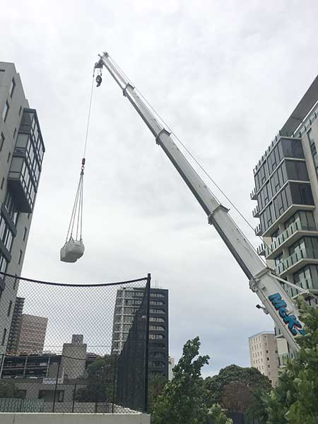 Rooftop Tennis Court Construction in Melbourne