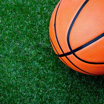 Outdoor Basketball Court Surface