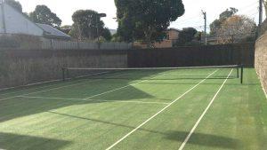 Tennis Court & Net Installation